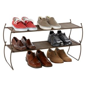 Umbra Bronze Stackable Shoe Rack 2-pack for Sale in Chicago, IL