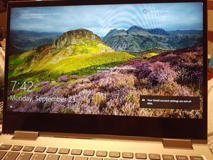 """Lenovo Yoga 13.3"""" laptop brand new. Only used for a week for Sale in Union, NJ"""