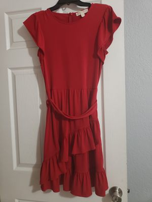 New Michael Kors Red Holiday Dress for Sale in Tampa, FL