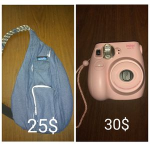 Kavu bag / Polaroid camera for Sale in Knoxville, TN