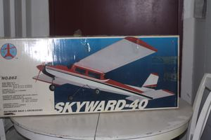 SKYWARD 40 R/C AIRPLANE SPORT TRAINER BALSA KIT for Sale in Dulles, VA