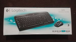 Logitech wireless mouse and keyboard combo for Sale in MD CITY, MD