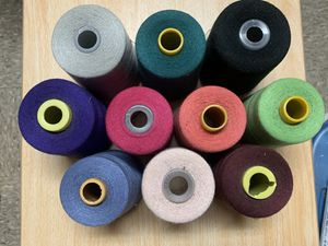 6000yards sewing thread 10 big spools with a little use for Sale in New York, NY