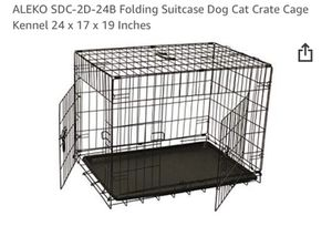 ALEKO Folding Suitcase Dog Crate for Sale in Groveland, FL
