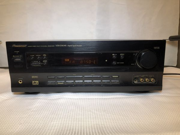 Pioneer VSX-D509S 5.1 CH A/V Audio Video Receiver TESTED & WORKING