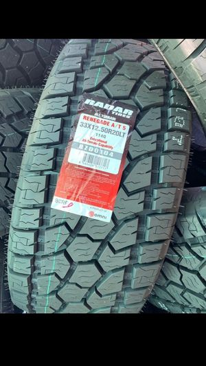 MONKEY wheels and tires 33 1250 20 for Sale in Phoenix, AZ