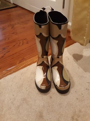 Coach rain boots size 8 for Sale in Woodbridge, VA