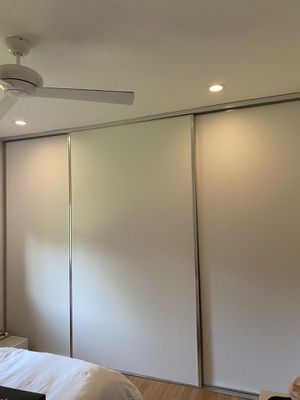Custom closet and doors white/gray for Sale in Miami, FL