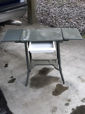 Cool Metal craft table or kids desk for Sale in Coeur d'Alene, ID