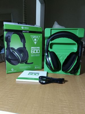 XBOX ONE turtle Beach ear force STEALTH 600 for Sale in Orlando, FL