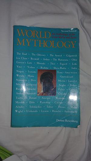 World Mythology by Donna Rosenberg for Sale in Nokesville, VA