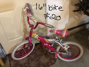 Barbie bike for Sale in Weston, WI