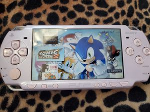 PINK/PURPLE 2001 * SLIM * - PSP - WITH 5,000 GAMES !!! for Sale in Santa Ana, CA