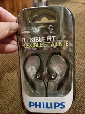 Philips extra bass earhook headphones for Sale in Plant City, FL