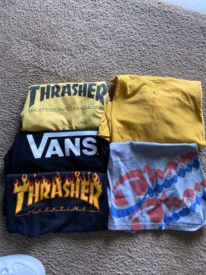 Vans , thrasher, champion,primitive for Sale in Bakersfield, CA