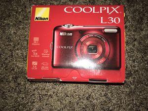 Nikon L30 digital camera for Sale in Chico, CA