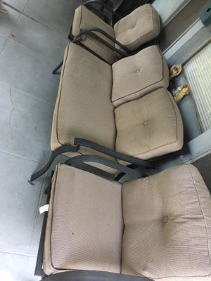 6 piece patio furniture, table chairs for Sale in Pasadena, CA