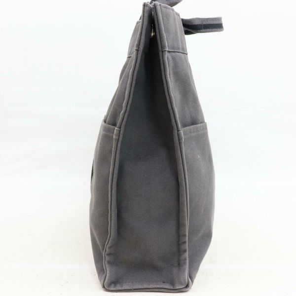 Authentic Hermes Garden Party Gray Tote Bag 11238
