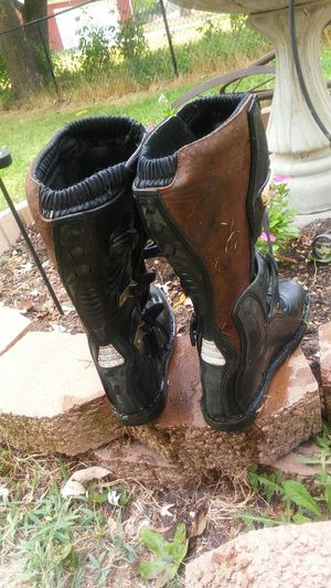 Motorcross riding boots for Sale in Lathrop, MO