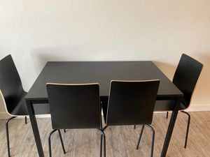 Dinning table with 4 chairs for Sale in Sandy, UT