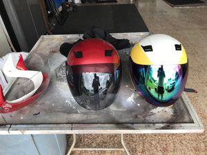 Two helmets dot for Sale in Sun City Center, FL