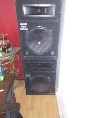 Acoustic digital audio 15in for Sale in Stockton, CA