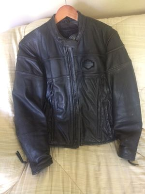 Harley Davidson leather jacket -size women's large for Sale in Lynwood, IL