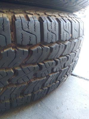 High Tread Tires EXCELLENT SHAPE PROVE IT URSELF for Sale in La Presa, CA