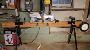 DeWalt Table Saw with Custom Bench/Table for Sale in Hamilton Township, NJ