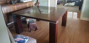 Free Dining room table and 8 chairs. for Sale in Grass Valley, CA