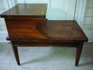 STEP * END TABLE * FURNITURE OLD ANTIQUE VINTAGE * 793STEP T230 for Sale in Washington, DC