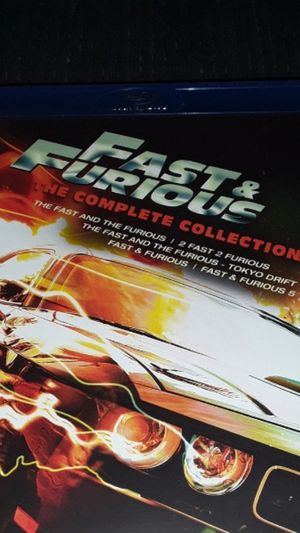Fast and furious complete set for Sale in Redlands, CA