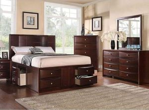 BRAND NEW QUEEN SIZE BED FRAME ADD MATTRESS AVAILABLE USA MEXICO FURNITURE for Sale in Riverside, CA