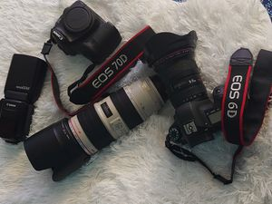 Canon Lenses 70-200mm F2.8 II IS, 16-35 F2.8 II, Flash 600EX-RT for Sale in Laurence Harbor, NJ