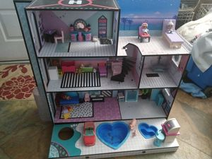 LOL Doll House with furniture for Sale in Peoria, AZ