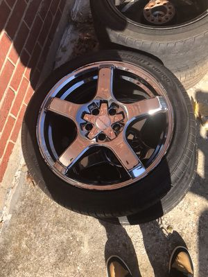 """18"" rims and tires for Sale in Silver Spring, MD"