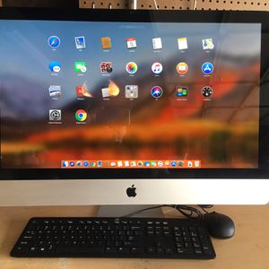 iMac 27 inches - Like New - MacOS High Sierra for Sale in Huntington Beach, CA