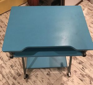 Desk on wheels for Sale in Silver Spring, MD