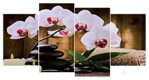 Moth Orchids HUGE DIY Diamond painting 3pc kit full drill for Sale in Mesa, AZ