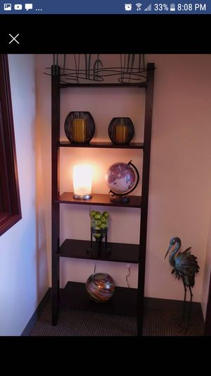 Brown Ladder Shelf for Sale in Hillsboro, OR