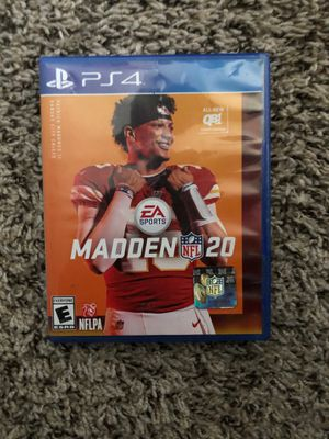 Madden 20 PS4 Game for Sale in Clarksville, TN