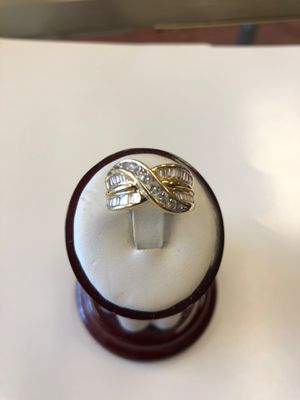 14k diamond ring 7.5g for Sale in Lawrence Township, NJ