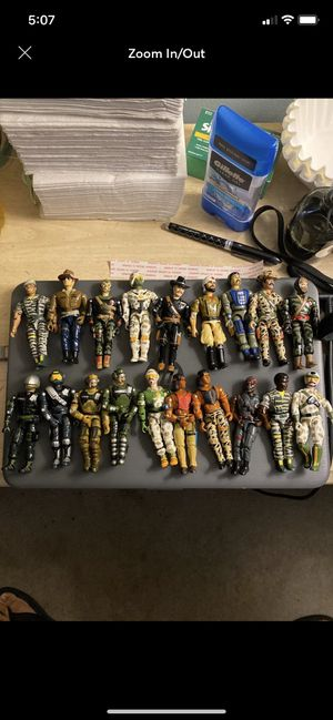 huge 86-98 The Corps action figures Lannard for Sale in Fayetteville, NC