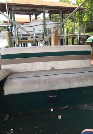 Pontoon bench seat for Sale in Jacksonville, FL