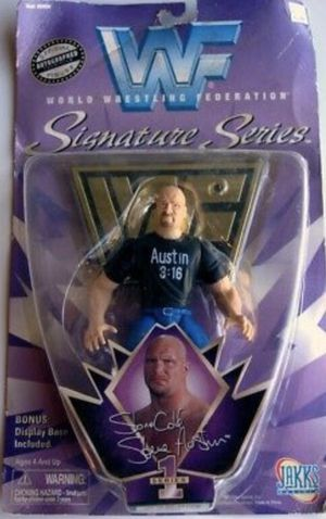 WWF/WWE Stone Cold Steve Austin Signature Series Action Figure Never Opened Collectors Item for Sale in Chicago, IL