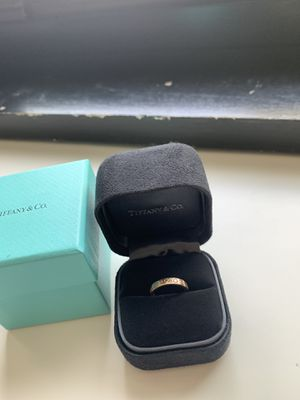 Tiffany 18k rose gold ring size 3 for Sale in St. Louis, MO