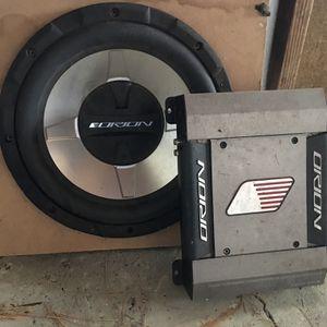 Car Amp & Speaker for Sale in Orchard Park, NY