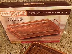 Copper Air fryer pan for Sale in Chandler, AZ