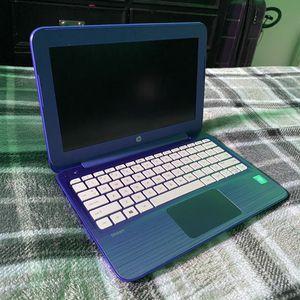 HP Stream 11.6-Inch Laptop (Intel Celeron, 2 GB RAM, 32 GB SSD, Violet Purple) for Sale in Colton, CA