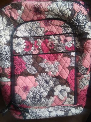 VERA BRADLEY QUILTED/FLORAL PINK LAPTOP BACKPACK for Sale in Lafayette, CO
